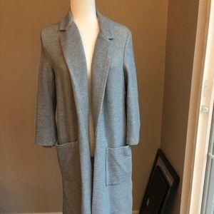 Zara Jackets & Coats - ZARA Trafaluc Marled Knit Duster Topcoat
